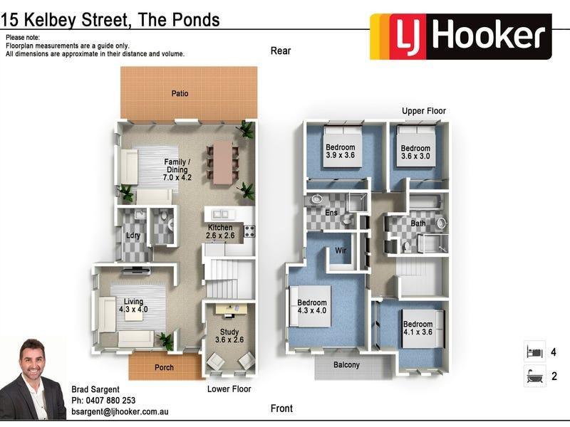 15 Kelby Street, The Ponds, NSW 2769