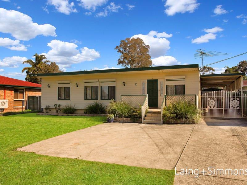 30 Siemens Crescent, Emerton, NSW 2770