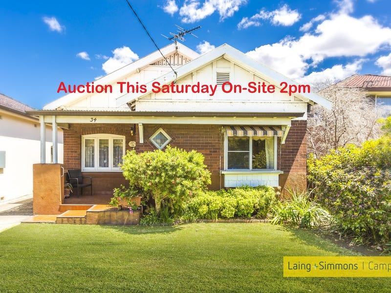34  Fourth Avenue, Campsie, NSW 2194