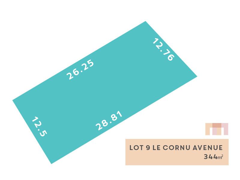 Lot 9, Le Cornu Avenue (Morphettville), Morphettville, SA 5043