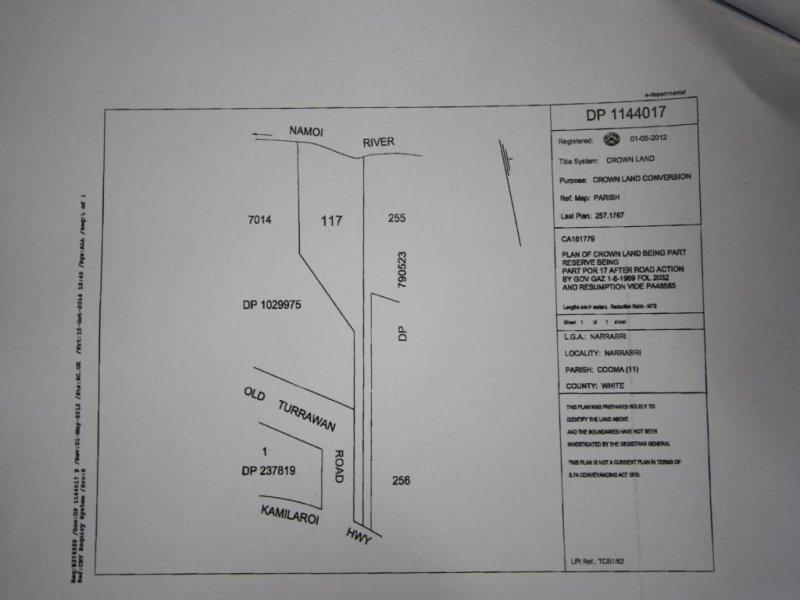 Lot 117 Old Turrawan Road, Narrabri, NSW 2390