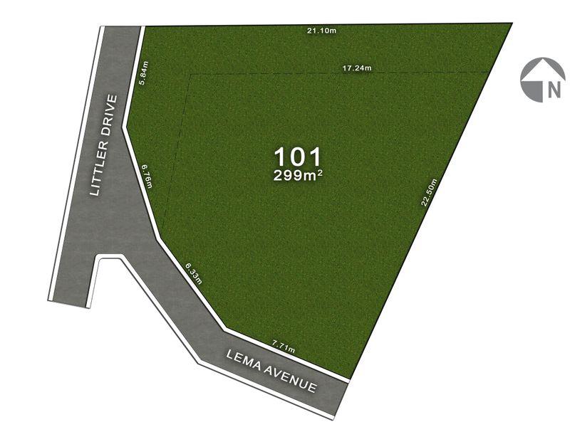 Lot 101, 2 Lema Avenue, Fairview Park, SA 5126