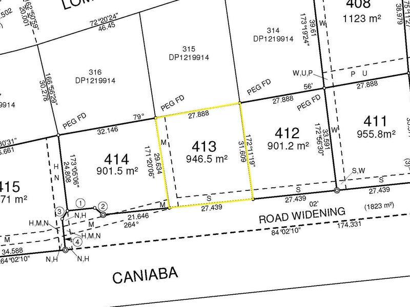 Lot 413 Lomandra Avenue, Caniaba, NSW 2480