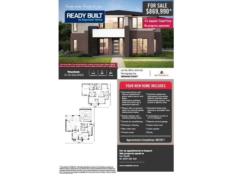 Lot 8012 Passiflora Avenue, Denham Court