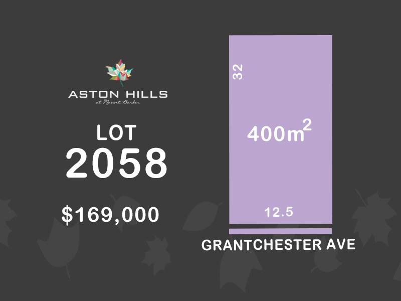 Lot 2058, Grantchester Avenue, Mount Barker, SA 5251