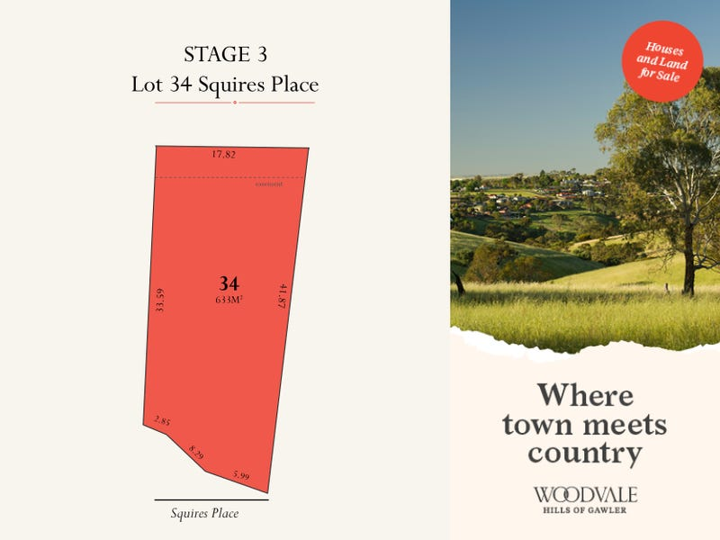 Lot 34 Squires Place, Gawler South, SA 5118
