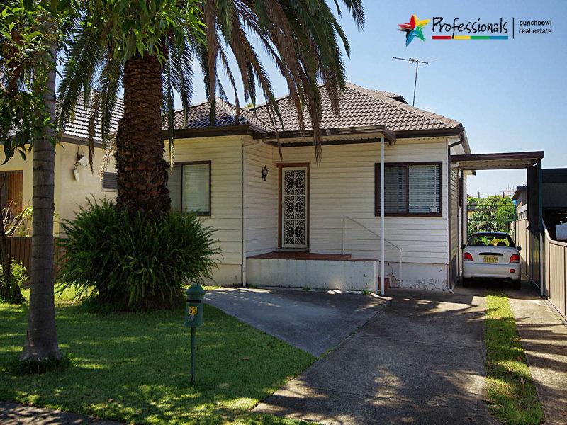 53 CARLTON Parade, Punchbowl, NSW 2196