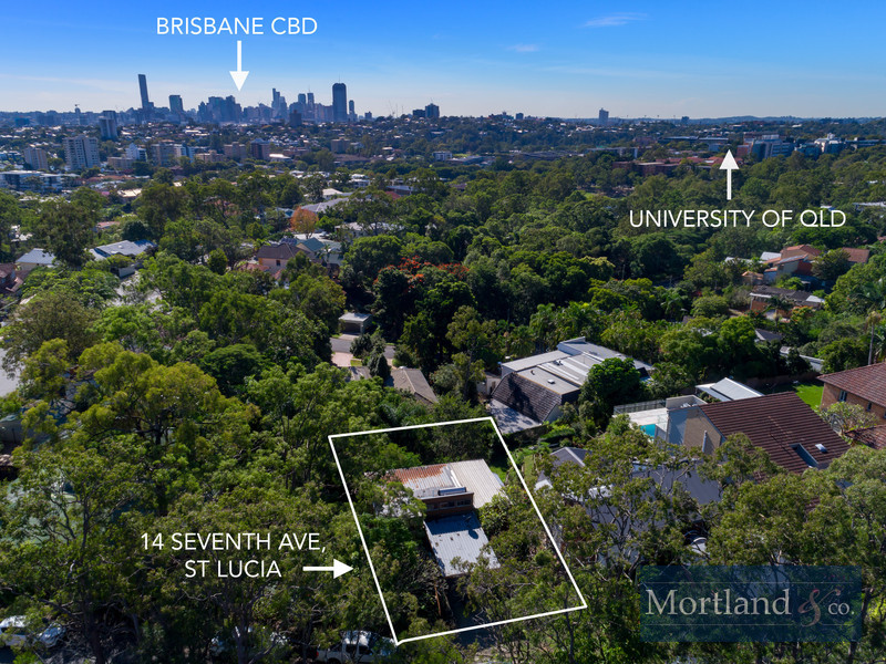 14 Seventh Avenue, St Lucia, Qld 4067