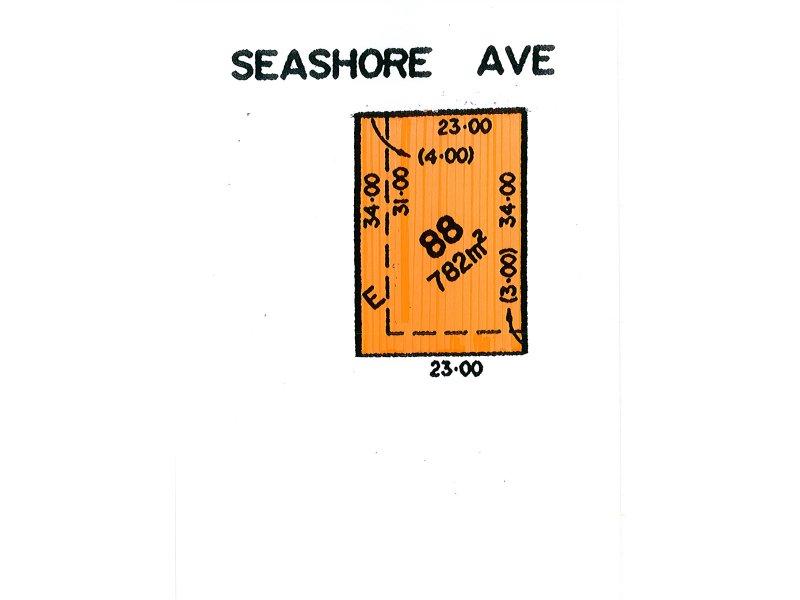 Lot 88, 13 Seashore Avenue, Sellicks Beach, SA 5174