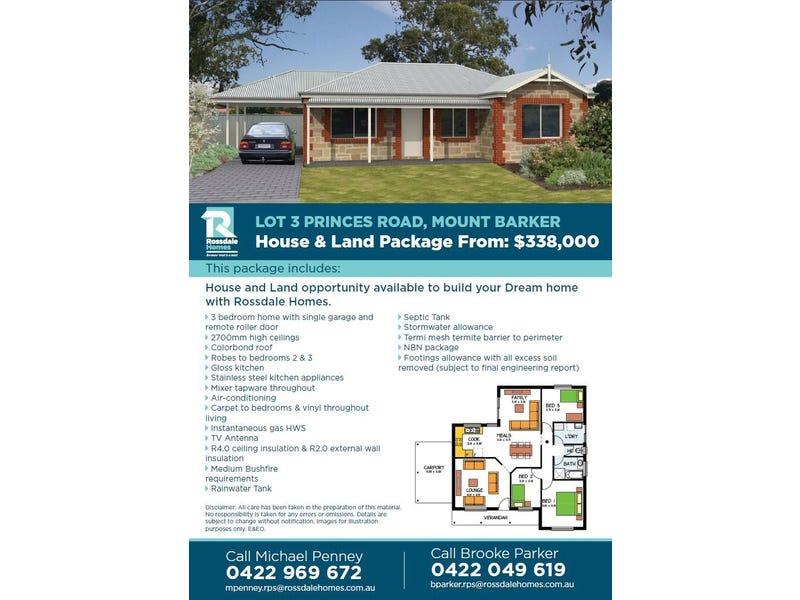 3 Princes Road, Mount Barker, SA 5251