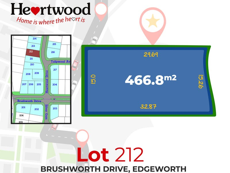 Lot. 212 Heartwood Drive, Edgeworth, NSW 2285