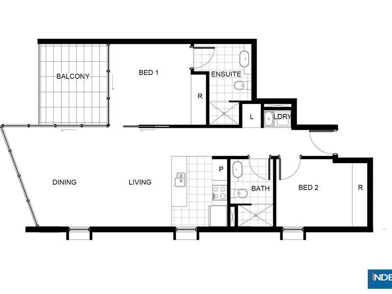 130/11 Trevillian Quay, Kingston, ACT 2604 - floorplan
