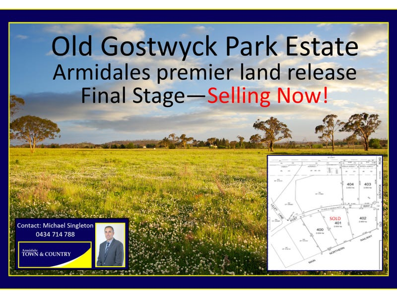 Lot 403 Old Gostwyck Park Estate, Armidale, NSW 2350