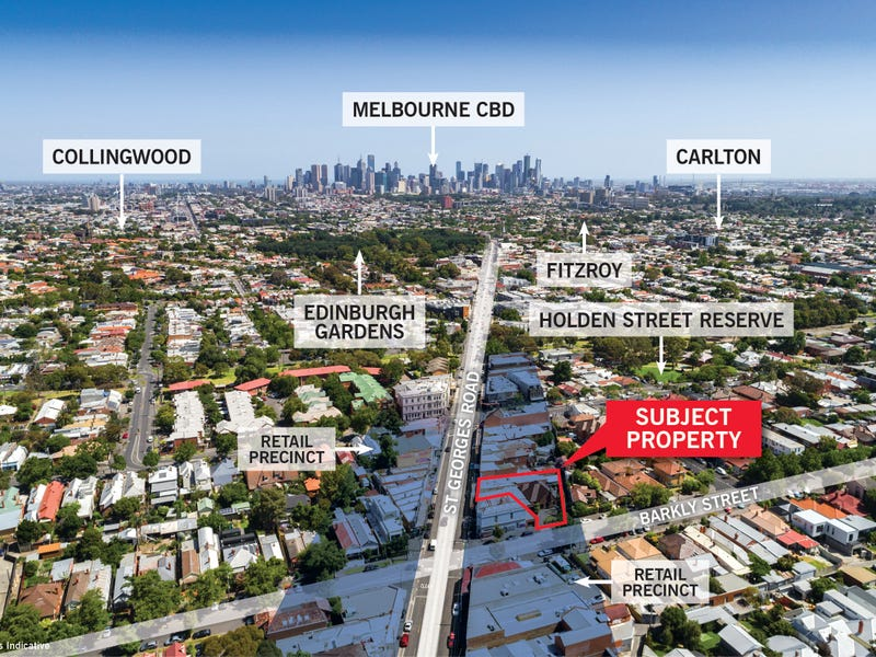 361  St Georges Road & 202 Barkly Street, Fitzroy North