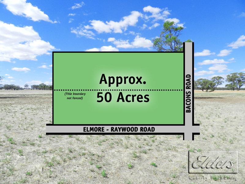 Cnr Elmore - Raywood Road and Bacons Road, Kamarooka, Vic 3570