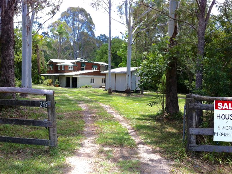 245 Middle Creek Road, Federal, Qld 4568