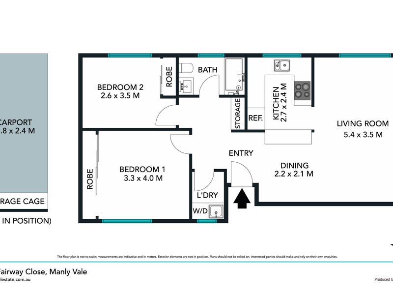 4/7 Fairway Close, Manly Vale, NSW 2093 - floorplan