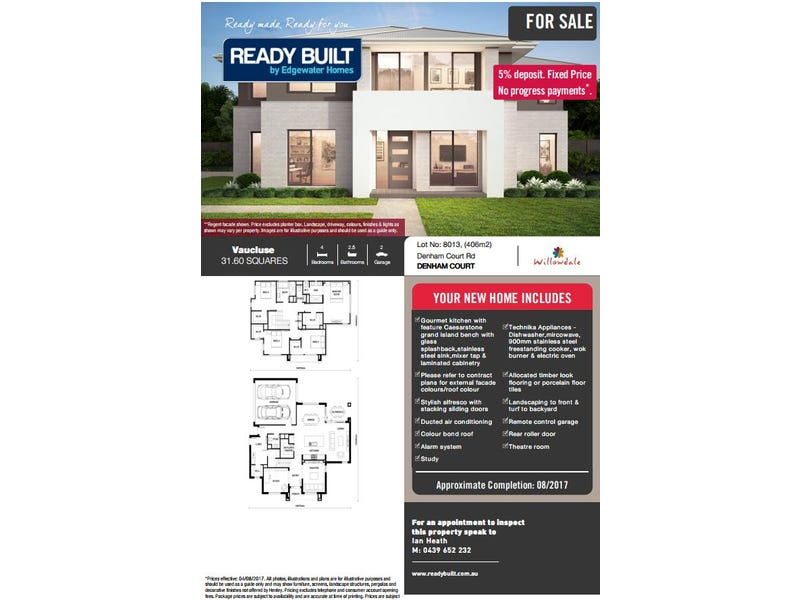 Lot 8013 Passiflora Avenue, Denham Court