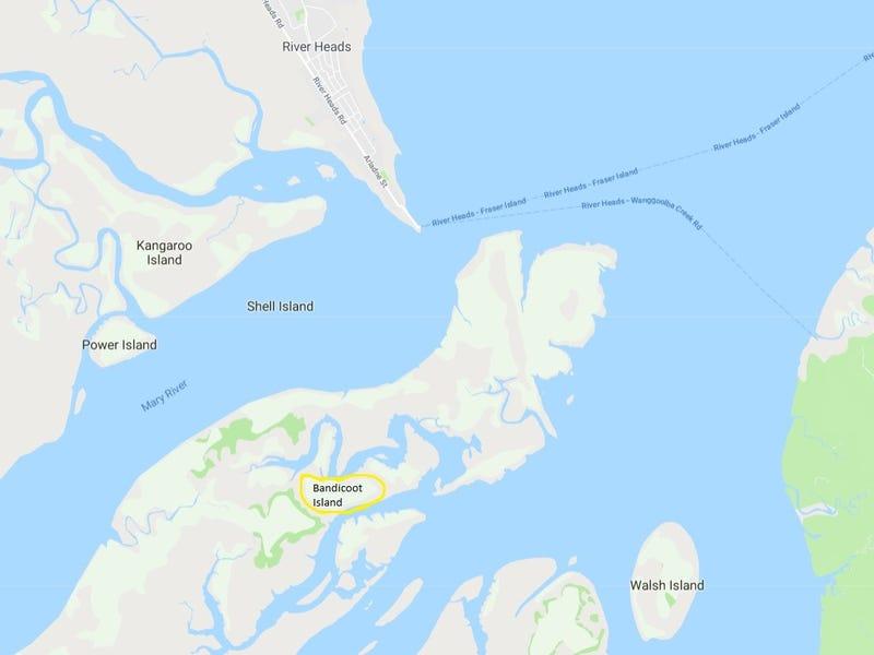 Bandicoot Island INNER SOUTH ROAD, Great Sandy Strait, Qld 4655