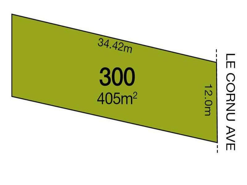 Lot 300/  Le Cornu Avenue, Morphettville, SA 5043