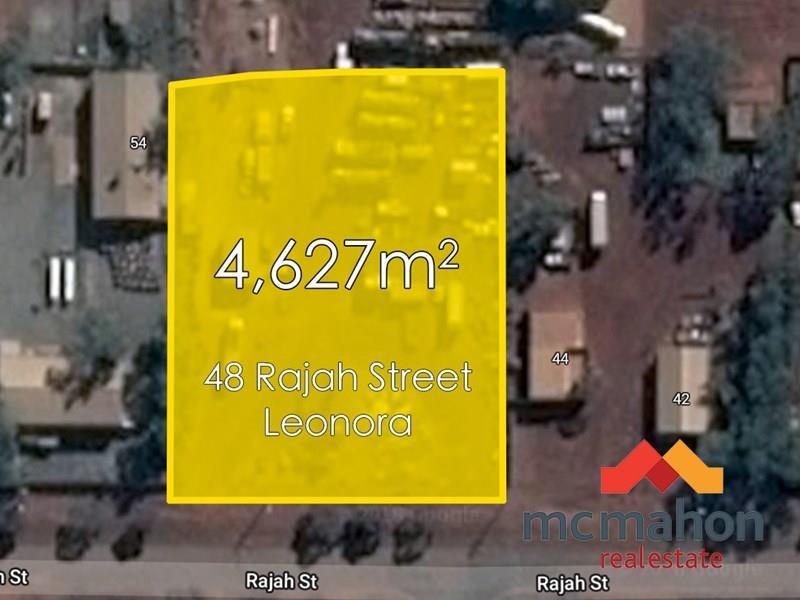 48  Rajah Street, Leonora, WA 6438