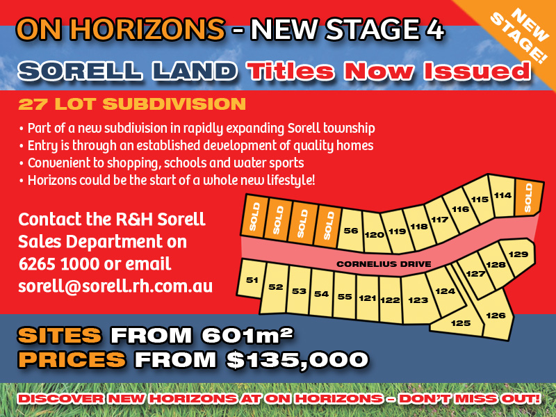 Lot 126 'On Horizons', Cornelius Drive, Sorell, Tas 7172