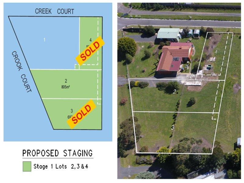 Lot 2,3 or 4, Crook/Creek Court, Ballan