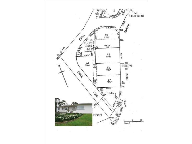 Lots 41, 42, 43, 44 Eagle Road, Leawood Gardens, SA 5150