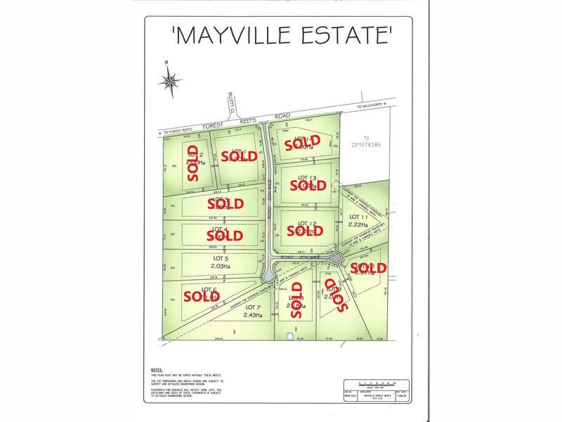 Mayville Estate 741 Forest Reefs Road, Millthorpe, NSW 2798