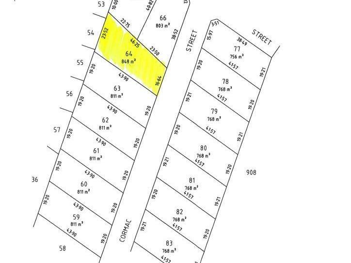 Lot 64, 3 Cormac Street, Port Hughes, SA 5558