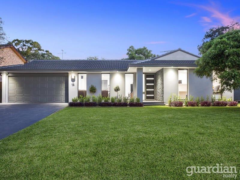 18 Mawarra  Crescent, Kellyville, NSW 2155