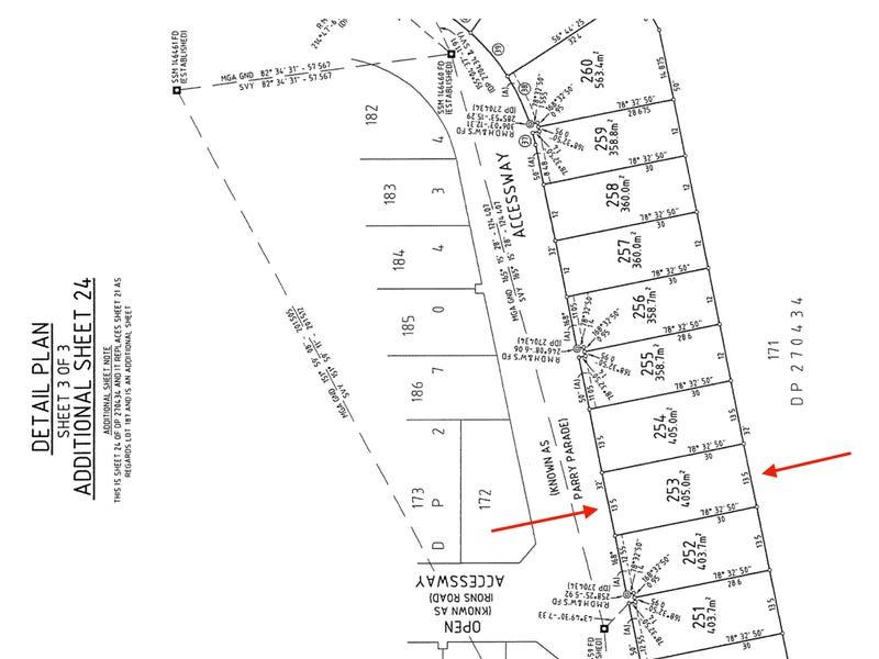 Lot 253, 26 Parry Parade, Wyong, NSW 2259