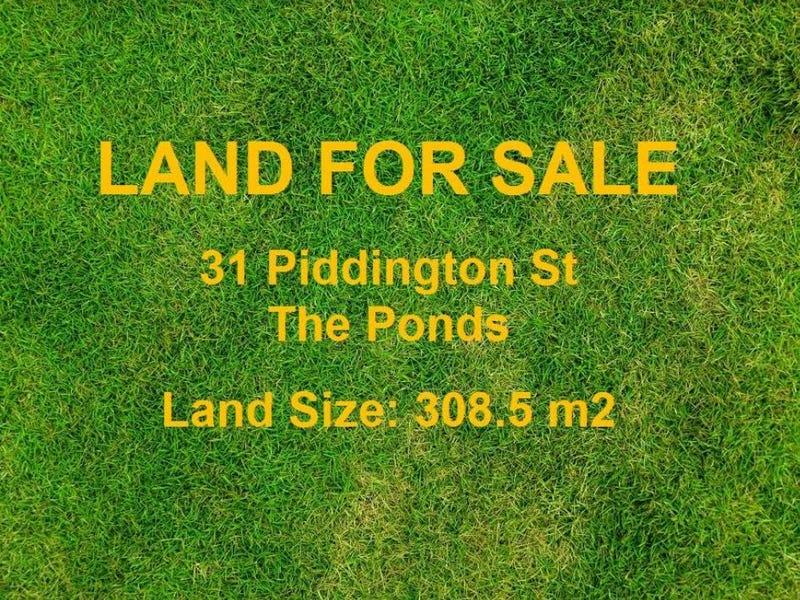 31 Piddington Street, The Ponds, NSW 2769
