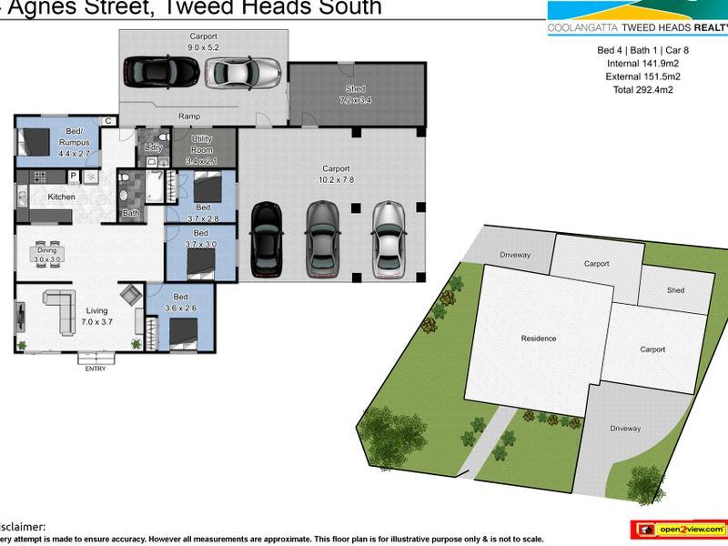 4 Agnes Street, Tweed Heads South, NSW 2486