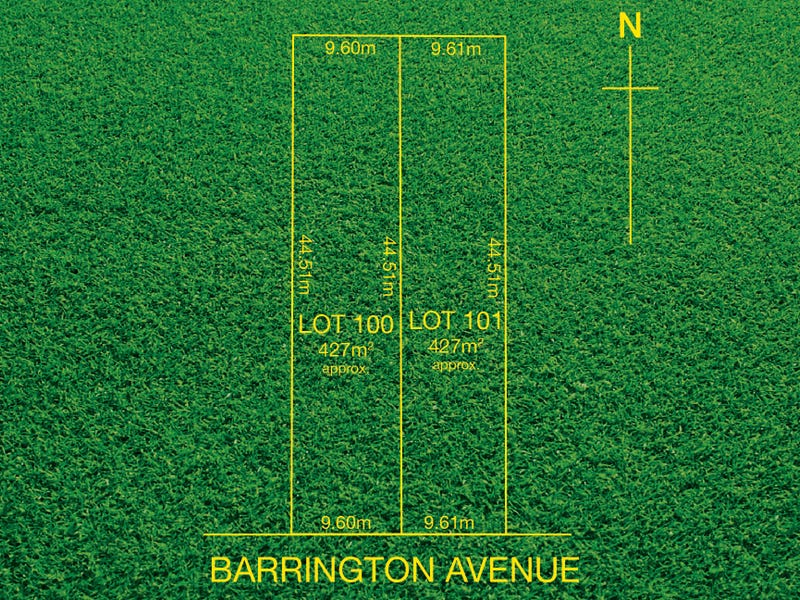 Lot 101, 34 Barrington Avenue, Enfield, SA 5085