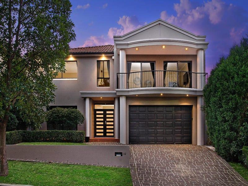 32 Broadleaf Crescent, Beaumont Hills, NSW 2155