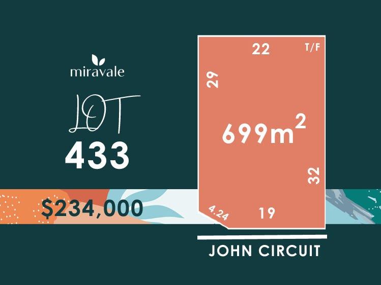 Lot 433, John Circuit (Miravale), Angle Vale, SA 5117