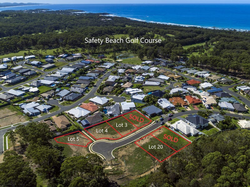 Lot 3 of Lot 26 Yachtsman Drive, Safety Beach, NSW 2456