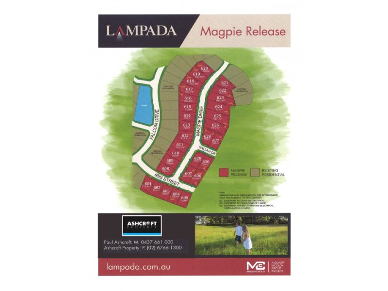 Lot 617 Magpie Drive, Calala, NSW 2340