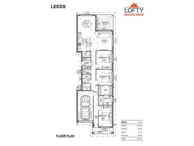 7B Leeds Avenue, Northfield, SA 5085 - floorplan