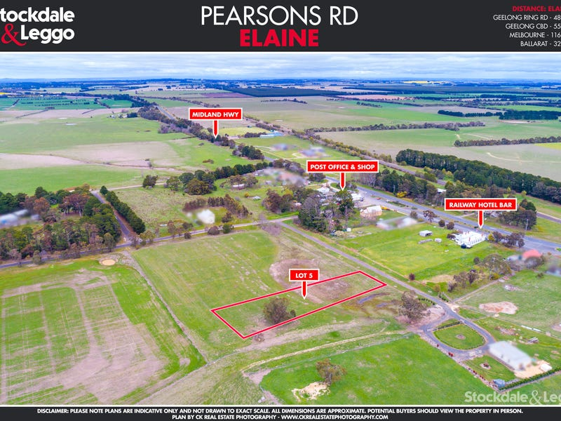 Lot 5 Pearsons Road, Elaine, Vic 3334