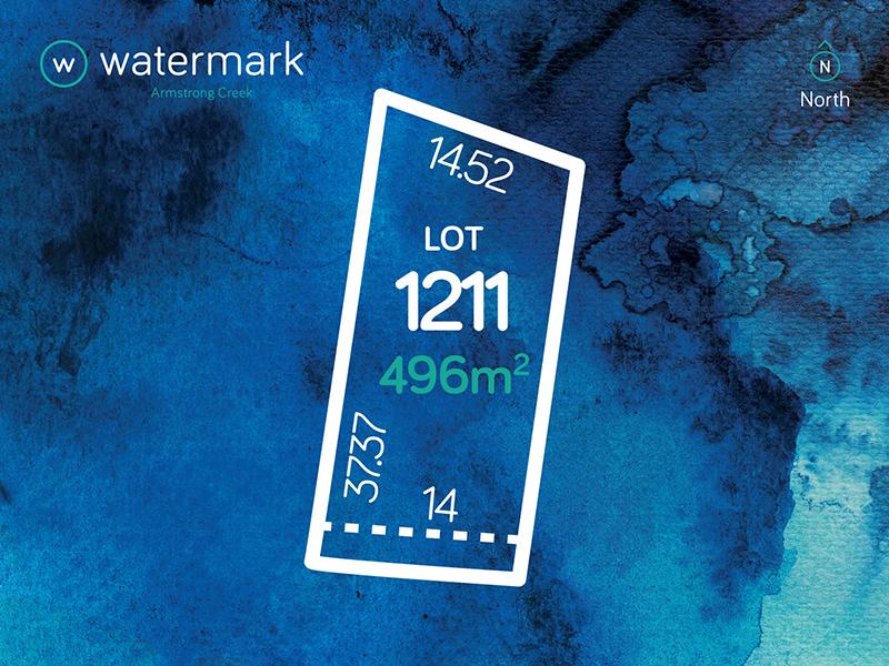 Lot 1211, Tyson Loop (Watermark), Armstrong Creek, Vic 3217