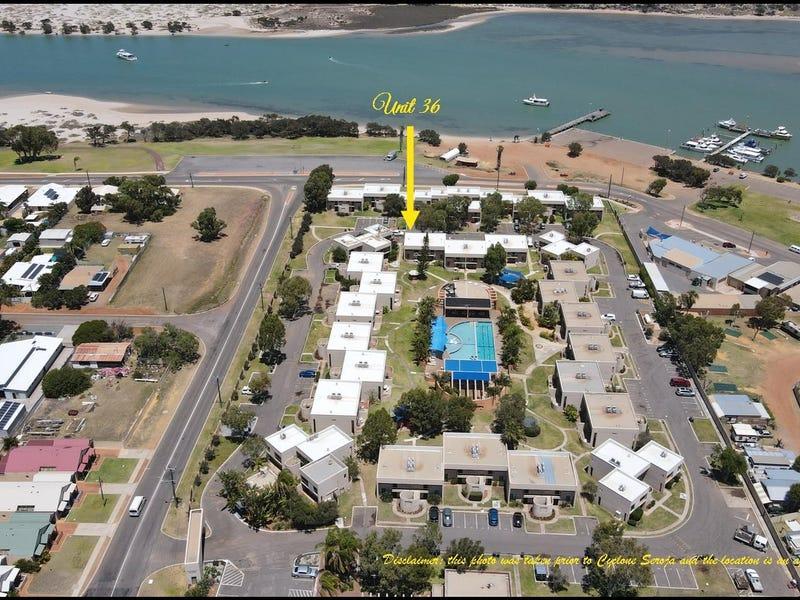 36/156 Grey Street - Riverview Holiday Apartments, Kalbarri, WA 6536