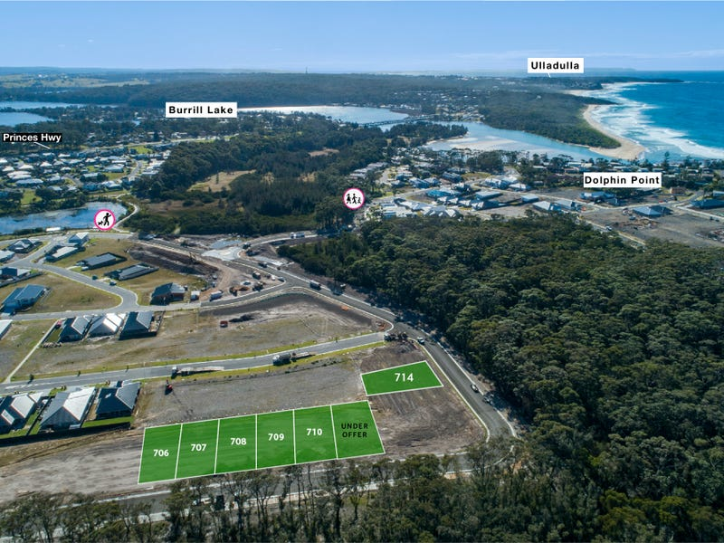Lot 706 - 711, The Lakes, Burrill Lake, NSW 2539