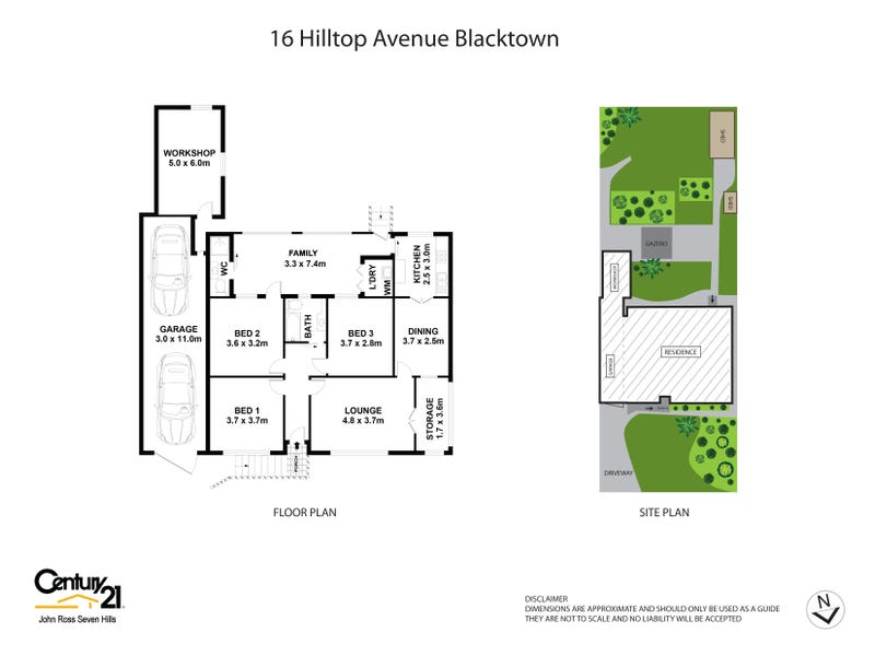16 Hilltop Avenue, Blacktown, NSW 2148