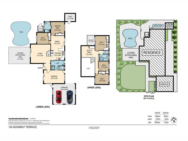 104 Mowbray Terrace, East Brisbane, Qld 4169 - floorplan
