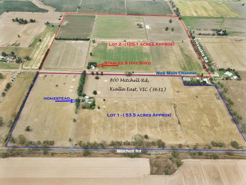 Lot 1 800 Mitchell Road, Kialla East, Vic 3631