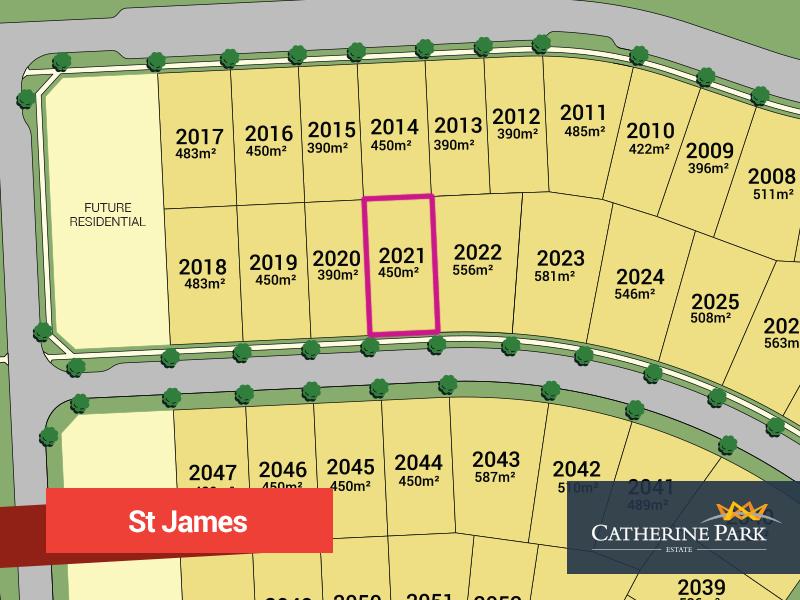 Lot 2021, Karmel Street, Oran Park, NSW 2570
