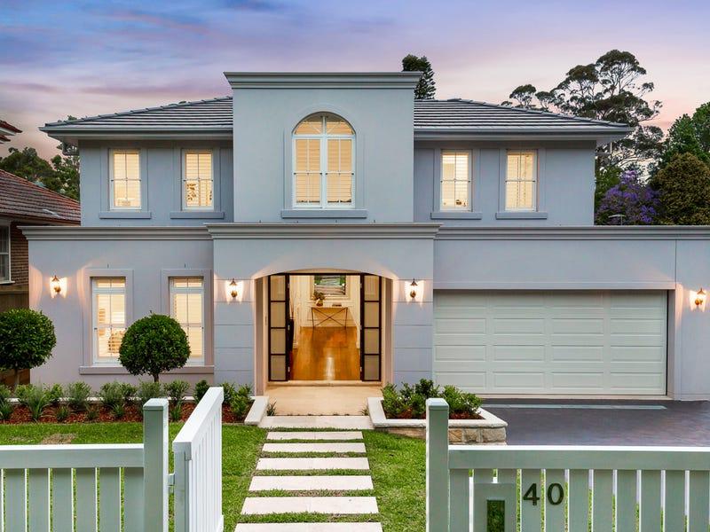 40 Tennyson Avenue, Turramurra, NSW 2074