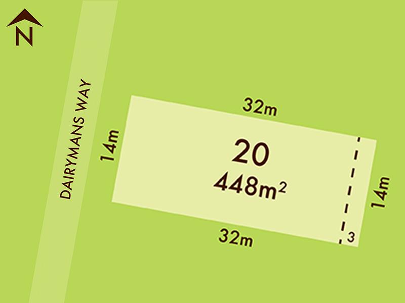 Lot 20, 17 Dairymans Way, Bonshaw, Vic 3352
